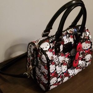 6e5def745 Loungefly Bags | Hello Kitty All Stars Embossed Mini Bag | Poshmark